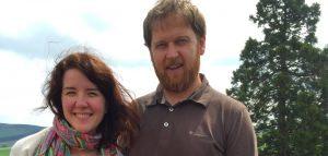 Rachel DuBois and Malcolm Handoll of Five Senses